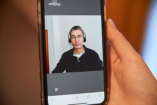 Sprechstunde am Smartphone